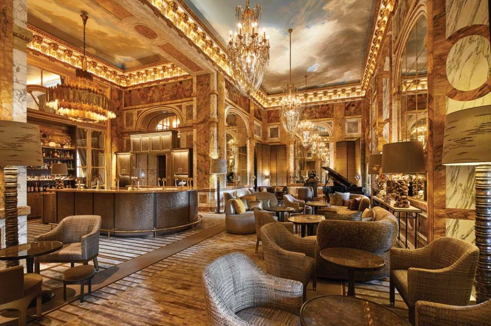 Hotel Crillon Restaurant Menu